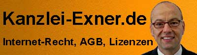 Kanzlei-Exner_de - Betreiber und Sponsor