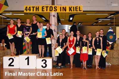 44. ETDS Master Latin; Foto: A. Röber