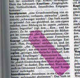 konzipieren; Herkunftswoerterbuch | Duden