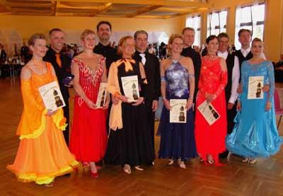 Michel-Pokal 2011 Senioren II C (Std); Bild: Exner