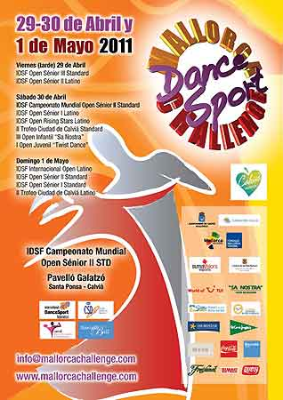 Mallorca-DanceSport-Challange; Flyer 2011