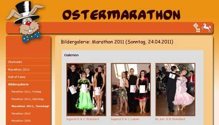 Bildergalerien - Screenshot: Ostermarathon.de