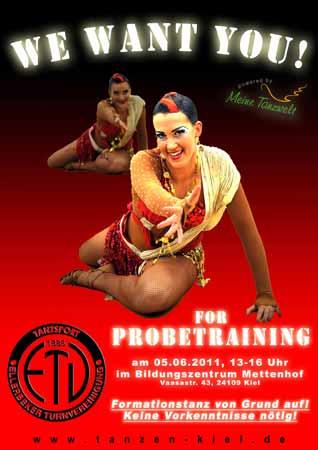 Probetraining ETV-Kiel: 05.06.2011