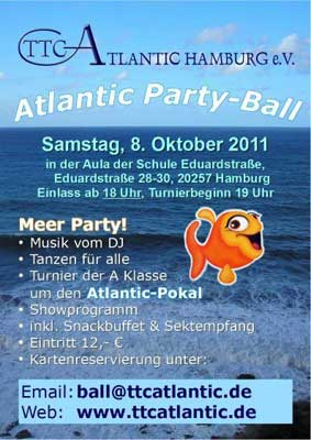 TTC-Atlantic Meer-Ball (Flyer)