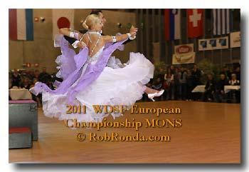 Ehrentanz EU-Champions; Bild: RobRonda.com