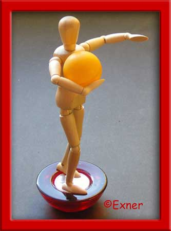 Tanz-Haltung: halten oder ziehen? Abb. Exner