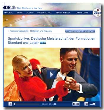 NDR live: DM Formationen 2011 (Standard + Latein)