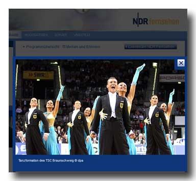 NDR: WM Standard-Formationen 2011 - Live-Stream (ab 23:15)