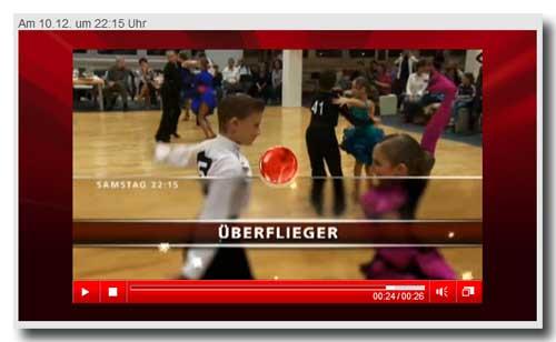 Bei VOX: SpiegelTV - Überflieger mit Latein-Tanzpaar (Bild: Trailer)