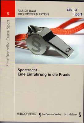 Buchcover: Sportrecht-eine-Einführung (Boorberg Verlag)