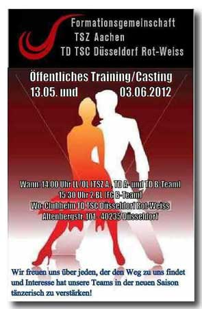 Formtionen-Casting FG Aachen+Düsseldorf