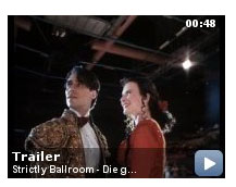 Strictly Ballroom at the Internet Movie Database (Video-Trailer) 