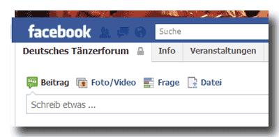 Deutsches Tänzerforum (geschlossene Facebook-Gruppe)