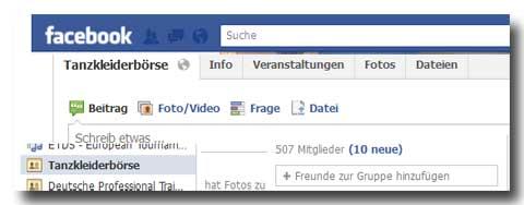 facebook-boerse-tanzkleider
