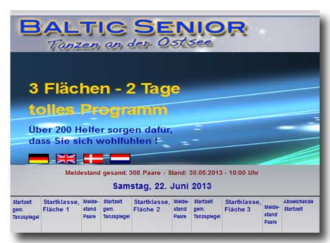 Baltic-Senior Meldestand