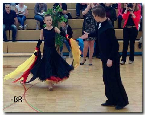 Hessen-tanzt 2013 -Junioren I B Std