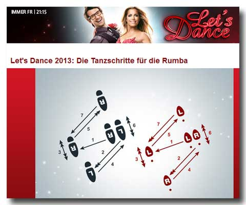 RTL Let's Dance - Rumba