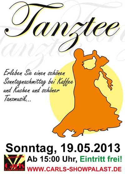 Tanztee zu Pfingsten - carls-showpalast.de