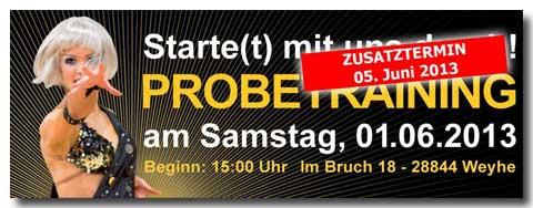 TSC-Weyhe.de Probe-Training