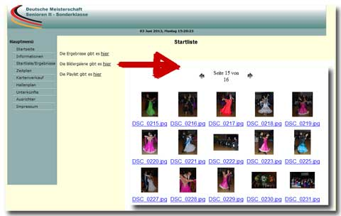Tanzsport 2013 - Senioren II DM Standard